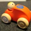 B Träbilar - Träbil Orange