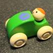 B Träbilar - Träbil Grön