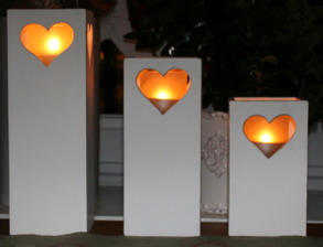 Ljuslyktor trä från 59 kr
