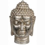 Budda silver 17x33x20 cm