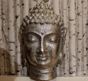 Budda ansikte 17x33x20 cm 395 Kr