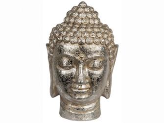 Budda silver 17x33x20 cm -
