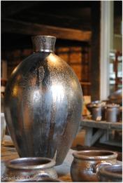 Vas i serien Bronze, med vacker bronsskimrande lyster.