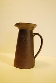 Vinkanna, 0,8 liter_Saltglaserat