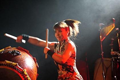 Kumiko Suzuki Supports Sweden Taiko