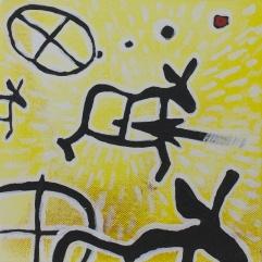Älgar, jakt & solsymbol. 2013
