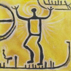 Människa, skepp & solsymbol. 2010
