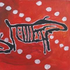 SÅLD! Älgkalv - röd. 2013