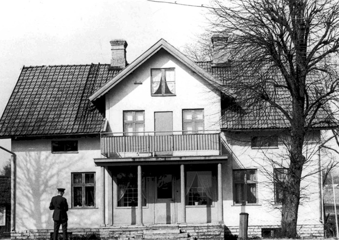 A. 35 (7) Endast digital bild. Bild på Gärdhem från Garnisonsmuseet, Axvall. 1960-tal. Insatt av Kent Friman, 2014-08-12