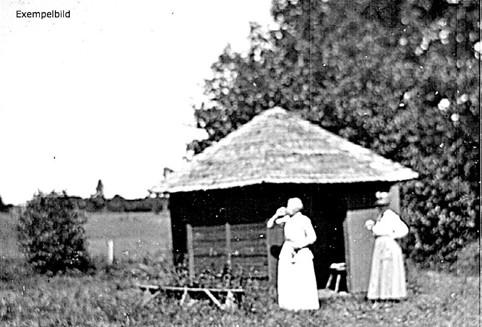Himmelskällan 1921. Foto S. Welin. Bild från Västergötlands Museum - bildarkivet/bildnummer: A40508.