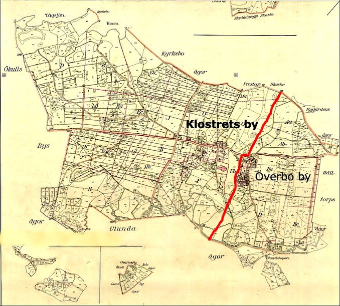 Karta från Lantmäteriet Historiska Kartor