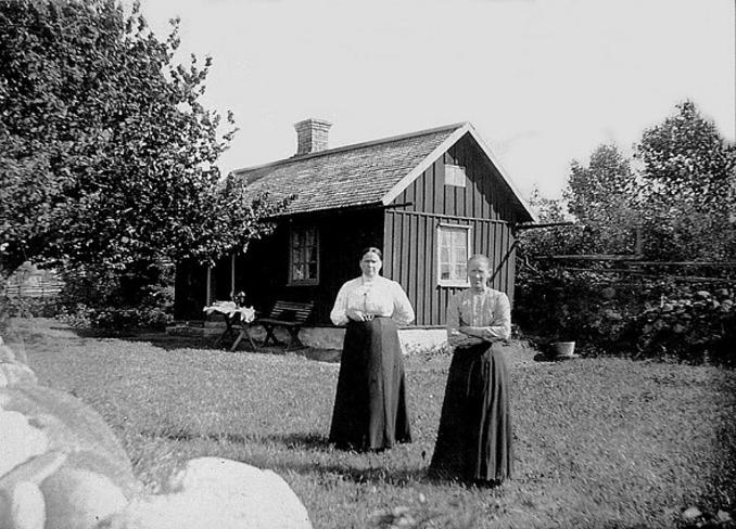 Foto från Förbergs samling via Astrid Blomqvist, Tomten, 2015