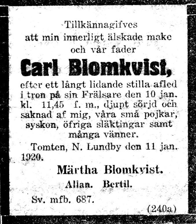 Urklipp ur Blomqvists samling via Astrid Blomqvist, Tomten, 2015