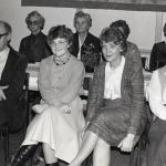 Karin Österberg, Edit Pettersson, ?, Karin Öberg, Nils Lann, Elisabeth Hammar, Anita Hammar och Gerda Jonsson