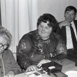 Anna-Britta Hermansson, Ing-Britt Bäckman och Gunnar Gillberg