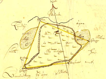 Kartan från lantmäteristyrelsens register