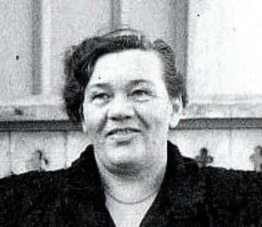 Tyra Andersson 1950-tal. Foto från Lennart Strömberg, 2016
