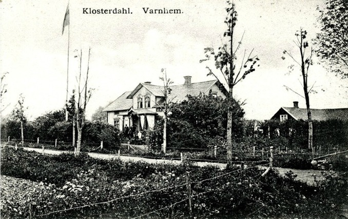 Bild; vykort från Margareta Dahlin, Varnhem