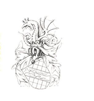 von Zwiegbergk - Ointroducerad Adel 1980 - vapenteckning