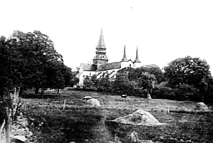 Klostergården innan klostergård