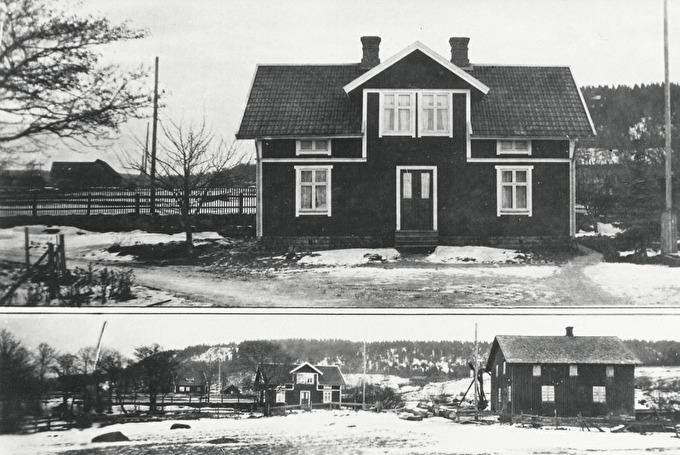 Blomsdal och Gustafsfors kvarn.