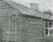 Rekonstruerad bild av soldattorpet Haga