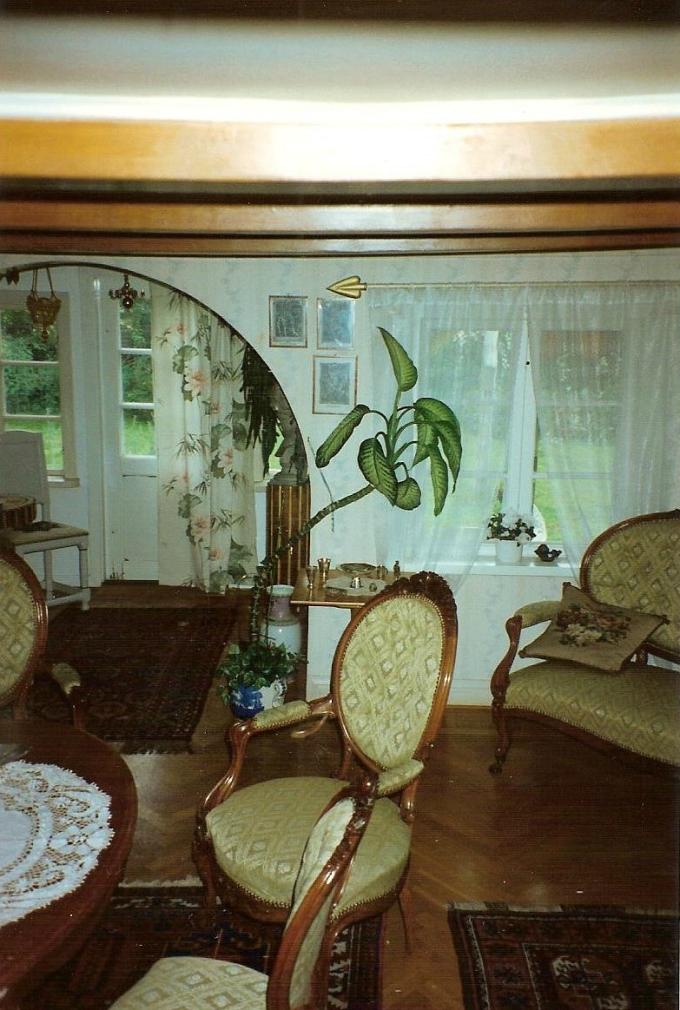 Salongen 1995. Från Anita Heymans, född Hermansson, fotosamling, 2017