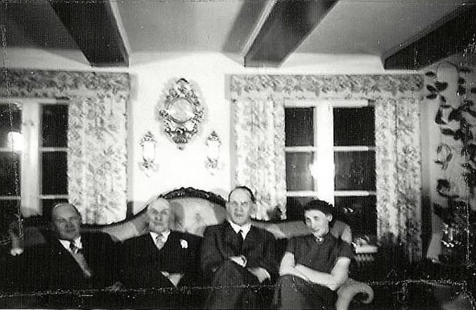 Fabror Bohmans 60 årsdag 1955. Anita Heymans samling.
