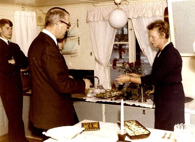 Fest november 1962. Anita Heymans samling.