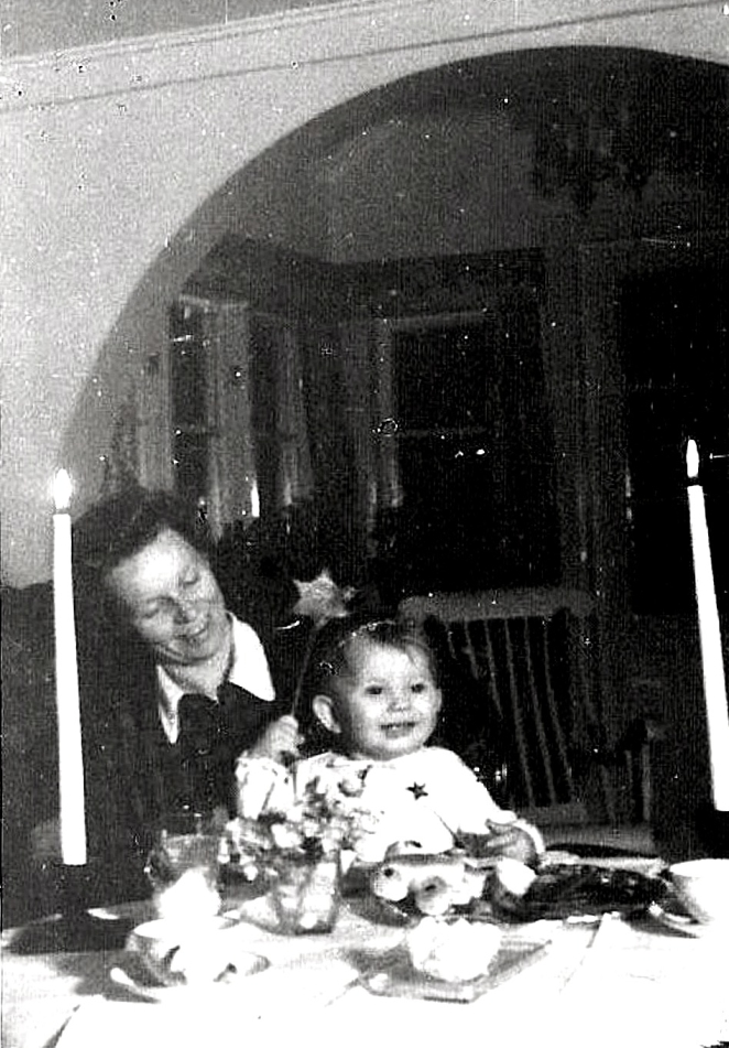 Lucia 1943. Anita Heymans samling.