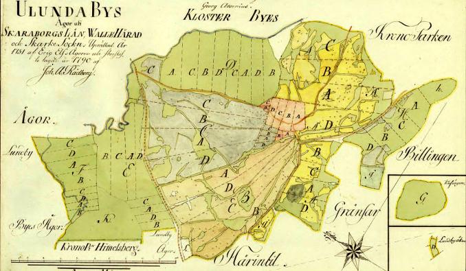 Ulunda storskifte 1790