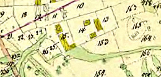 Ulunda bys gårdar 1837