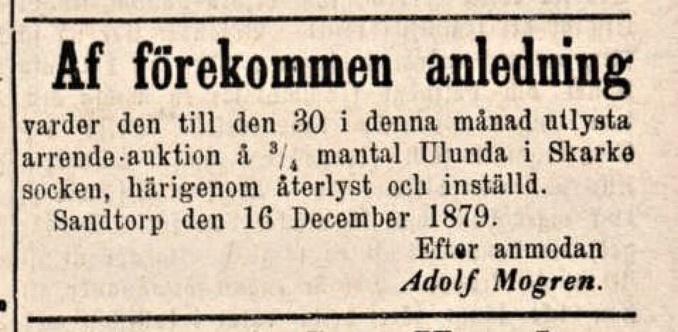 Kjellberg återtar Falköpings tidning 1879-12-24 Ulunda