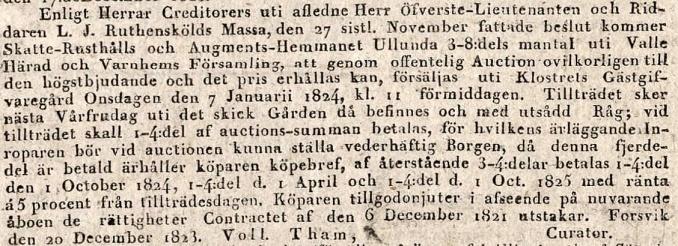 Mariestads veckoblad 1823-12
