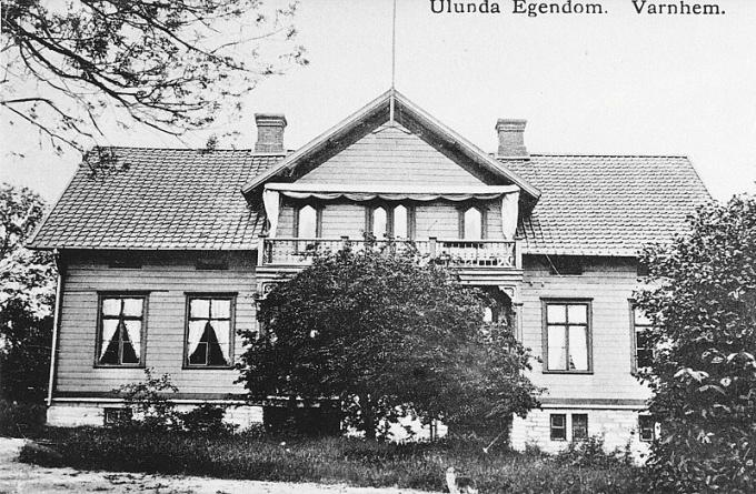 Från digitala arkivet; Ulunda början av 1900-tal