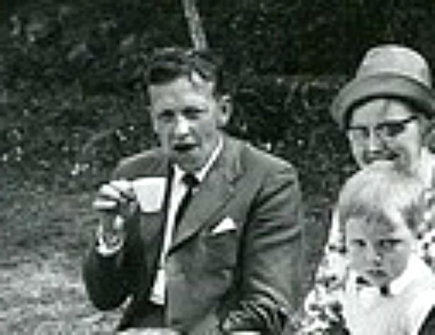 Per, Edith och Börje Andersson, Fiskaregården