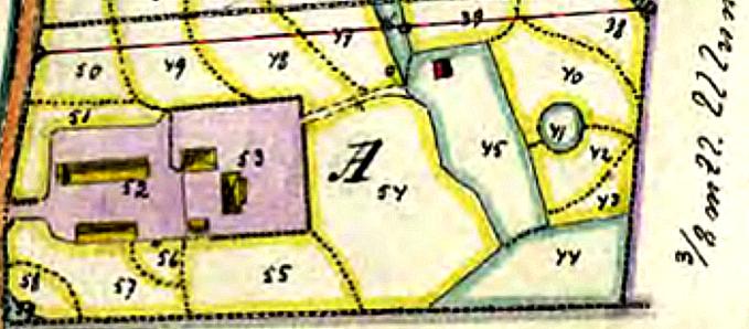 Ulunda gård 1915 delas - klicka på kartan för att se bättre!