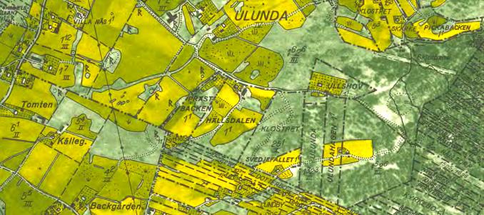 Ullshov 1960 - klicka på kartan för att se den större!
