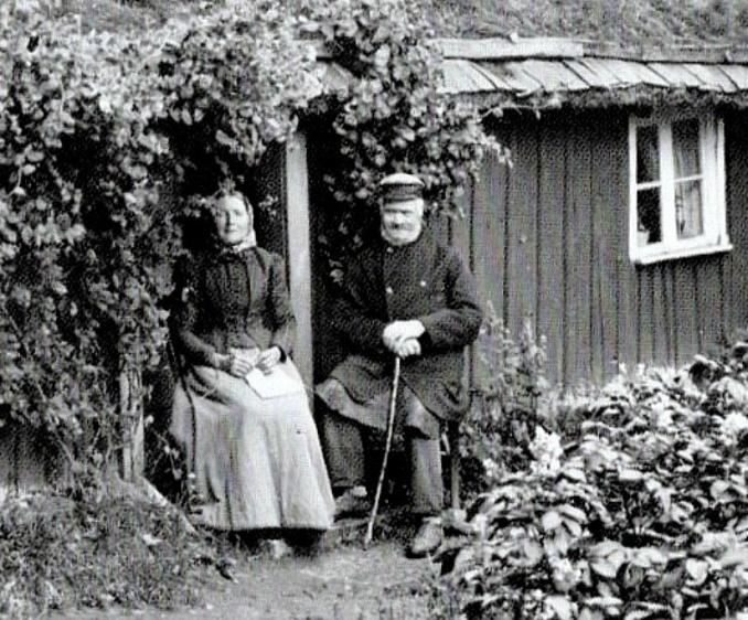 Delförstoring makarna Nilsson