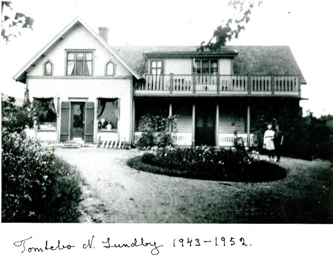 Norra Lundby Tomtebo affär 1940-talet - från Norra Lundby Sockengilles arkiv 2019