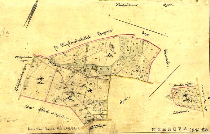 Karta Historiska Kartor Lantmäteriet 1881. Klicka på kartan för att se den större!