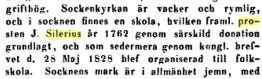 Om Tuhn församling; Project Runeberg -  Skara stifts herdaminne /393 (1871) Author: Johan Wilhelm Warholm (http://runeberg.org/skarahe1/0399.html)