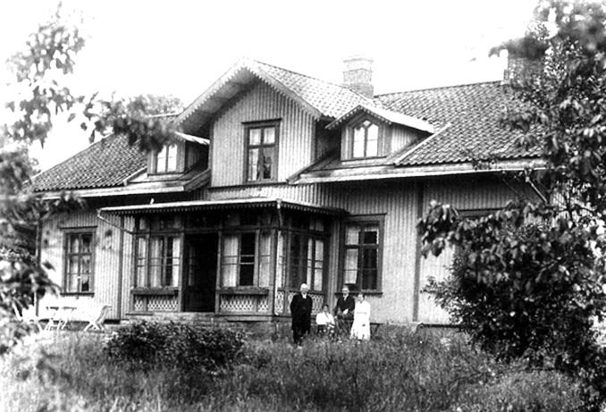 Foto från 1918 ur Varnhemsbygden