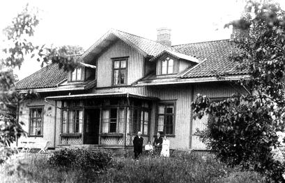 Prästgården Varnhem 1918
