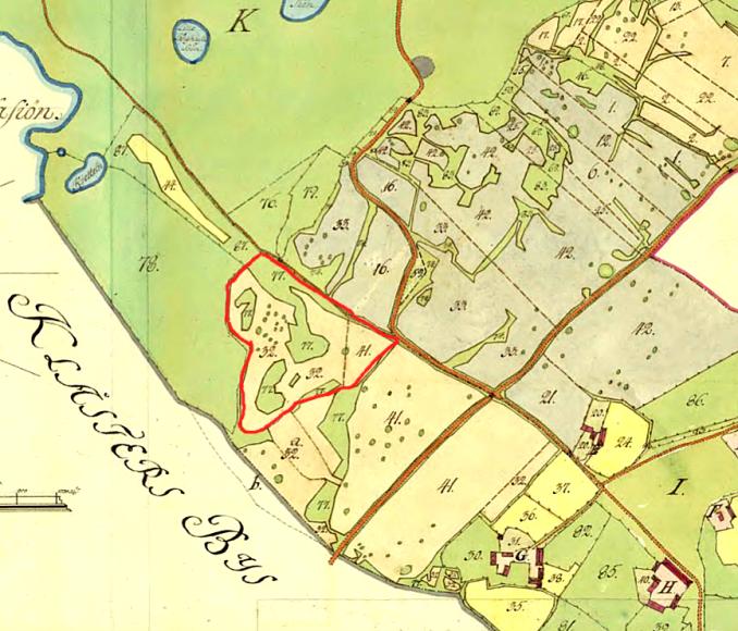 Storskifteskartan 1795