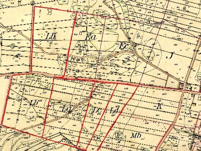 Fogdegården 1850 års tilldelning