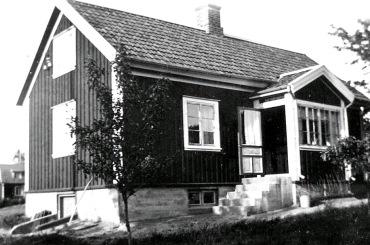 Elsas hem Lövåsen - foto från Anders Främst samling, 2016