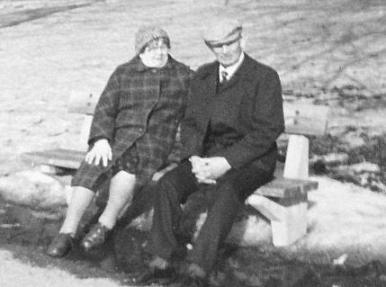 Linnéa Jonsson Sköld och Sven Sköld   i Gbg 1979