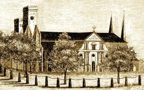 Skara domkyrka före 1864