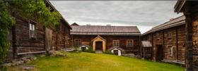 Bild av 1500-talsgård från mellansverige